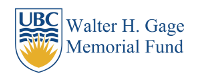 Walter Gage Fund